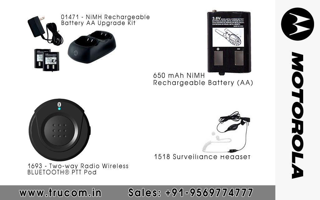 Motorola Walkie Talkie Accessories dealers distributors suppliers in Mumbai Maharastra India