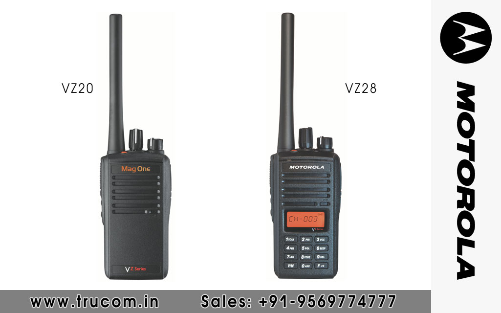 Motorola VZ20/28 Walkie Talkie dealers distributors suppliers in Mumbai Maharastra India