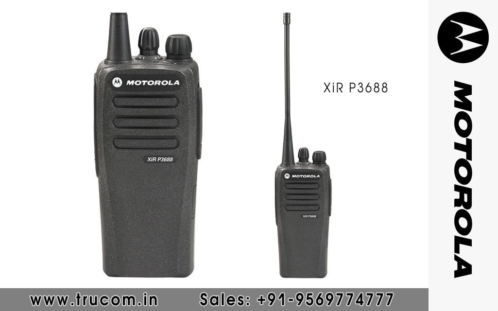 Motorola XIR P3688 Walkie Talkie dealers distributors suppliers in Mumbai Maharastra India