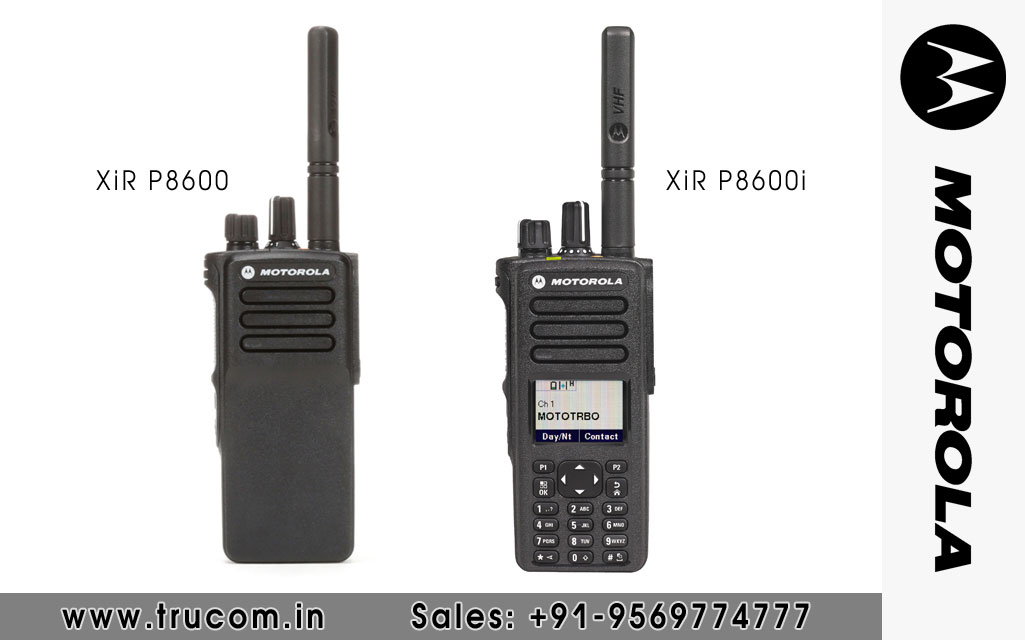 Motorola XIR P8600 Series Walkie Talkie dealers distributors suppliers in Shimla Baddi HP India
