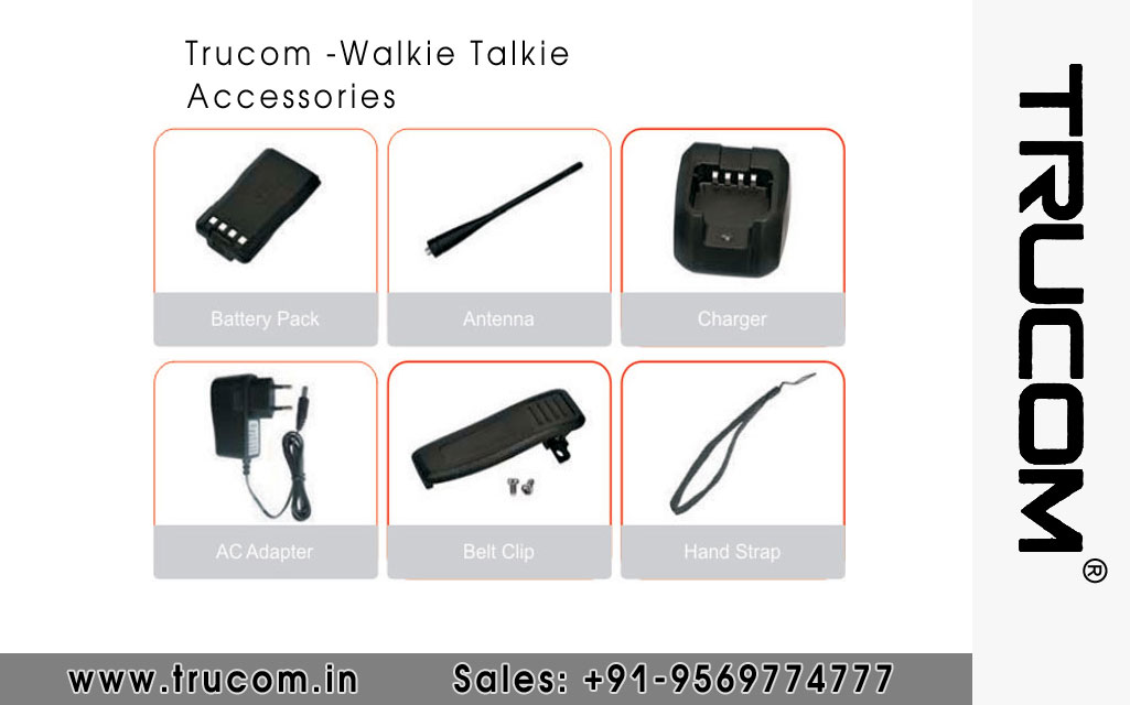Trucom Walkie Talkie Accessories dealers distributors suppliers in Mumbai Maharastra India