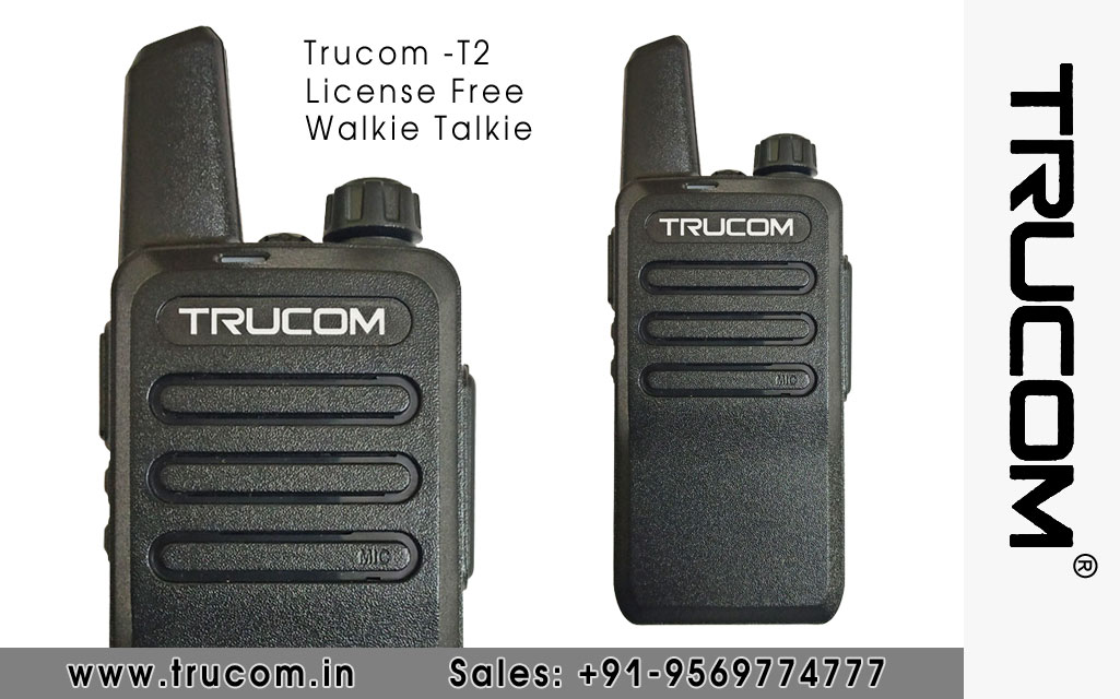 Trucom - T2 Walkie Talkie dealers distributors suppliers in Shimla Baddi HP India