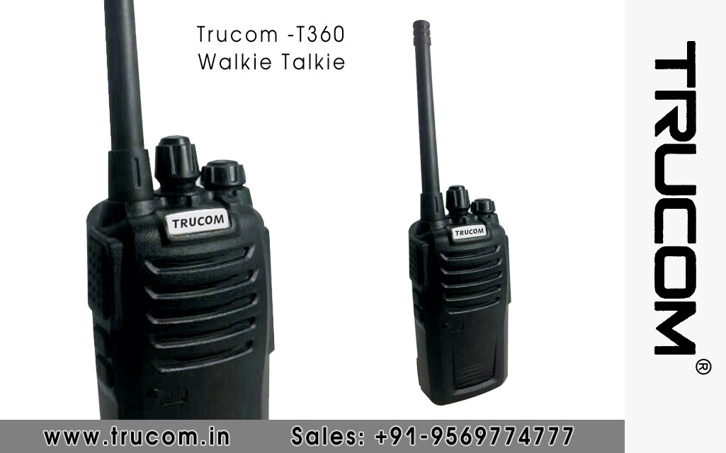 Trucom - T360 Walkie Talkie dealers distributors suppliers in Shimla Baddi HP India