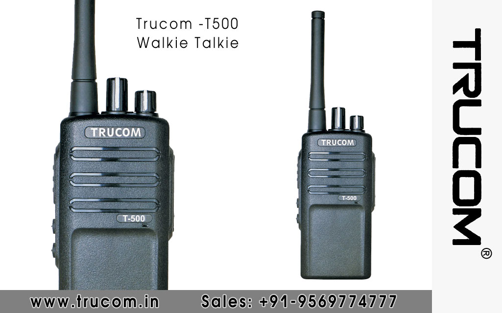 Trucom - T500 Walkie Talkie dealers distributors suppliers in Mumbai Maharastra India