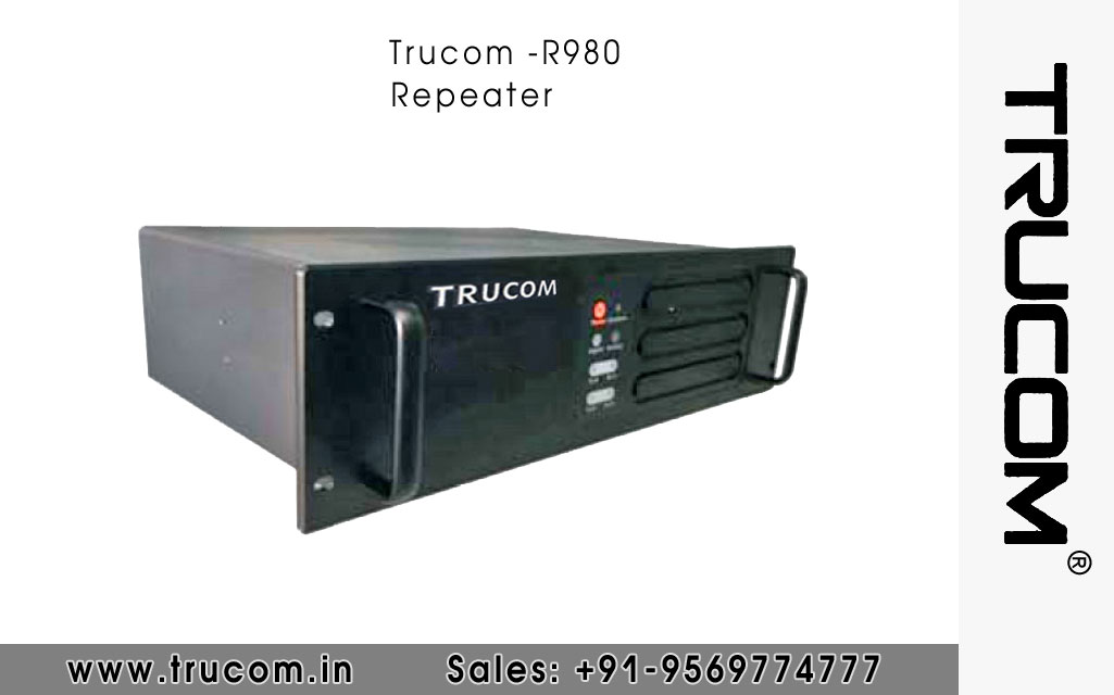 Trucom - R980 Repeater dealers distributors suppliers in Mumbai Maharastra India